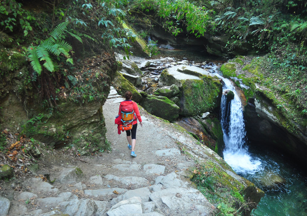Day 7: Trek from Ulleri (1500m) to Nayapul (4 hrs, 1070m) and drive to Pokhara (1.5 hrs)